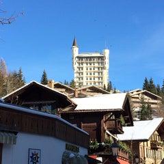 Photo taken at Restaurant Hotel Rössli by Jean M. on 12/31/2013