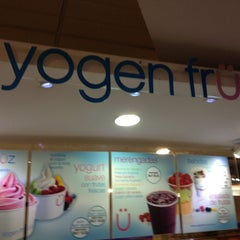 Photo taken at Yogen Fruz by Carlos G. on 11/18/2012