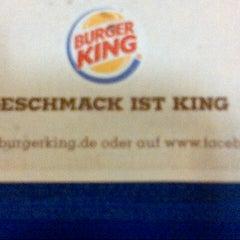 Photo taken at Burger King by der kaess on 1/11/2013