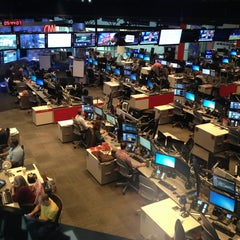 Photo taken at CNN Newsroom by Ron S. on 3/29/2014