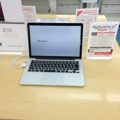 Photo taken at Apple Shop ケーズデンキ燕三条店 by kazu on 6/14/2013