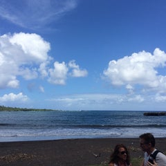 Photo taken at Hana Beach Park by Ken W. on 9/19/2015