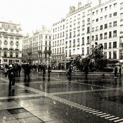 Photo taken at Place des Terreaux by 'Baptiste T. on 2/9/2013