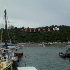Photo taken at Bali Hai Pier by yukoyuko on 6/17/2012