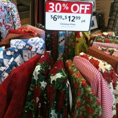 Photo taken at Hancock Fabrics by Cameron G. on 7/8/2012