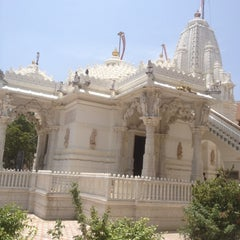 Photo taken at Jain Swetambar Temple by Arpit S. on 8/20/2012