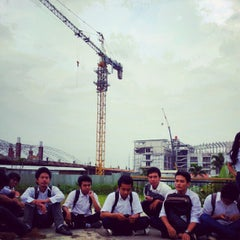 Photo taken at Telkom Engineering School (TES) by Ainu F. on 4/12/2012