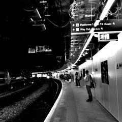 Photo taken at Birmingham New Street Railway Station (BHM) by Cat T. on 8/9/2012