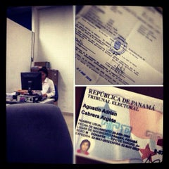 Photo taken at Tribunal Electoral by Agustín A. C. on 5/4/2012