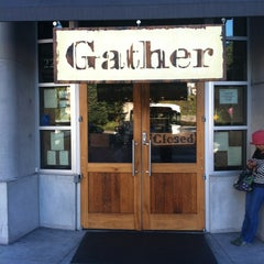 Photo taken at Gather by Joey M. on 9/9/2012