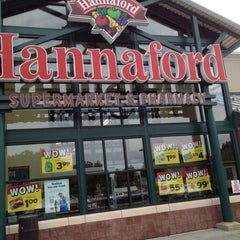 Photo taken at Hannaford Supermarket by Nate F. on 8/25/2012