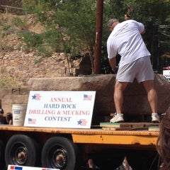 Photo taken at Bisbee Mining and Historical Museum by Ivy M. on 7/4/2012