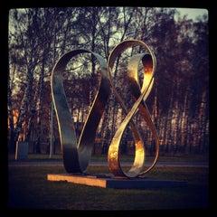 "Photo taken at ""Rīgai - 800"" piemineklis | Monument of ""Riga - 800"" by Mareks M. on 4/21/2012"