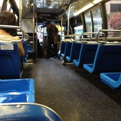 Photo taken at MTA Bus - 7 Av & W 57 St (M/31M57/X12/X14/X30/X42) by Chuck A. on 8/3/2012