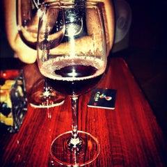 Photo taken at Cavas Wine Tasting Room by Joelle A. on 4/1/2012