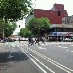 Photo taken at Av. 20 De Noviembre by JesúsGA @. on 4/13/2012