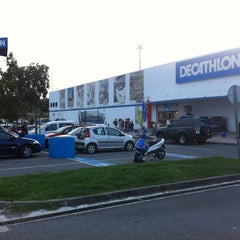 Photo taken at Decathlon by Alberto (. on 8/20/2012