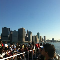 Photo taken at Governors Island Ferry by Erin G. on 6/24/2012