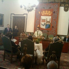 Photo taken at Ayuntamiento de Zamora by Vicente Juan T. on 8/11/2012