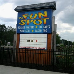 Photo taken at The Fun Spot by Cole D. on 7/17/2012