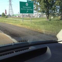 Photo taken at Senatobia, MS by Dorothy S. on 4/22/2012