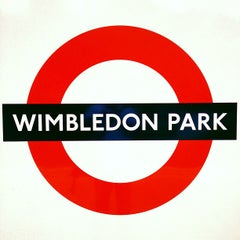 Photo taken at Wimbledon Park London Underground Station by onezerohero on 8/1/2012