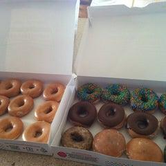 Photo taken at Krispy Kreme Doughnuts by Chris R. on 3/16/2012
