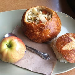 Photo taken at Panera Bread by Joanna W. on 7/14/2012