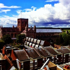 Photo taken at St Albans Clock Tower by Glen C. on 8/25/2012
