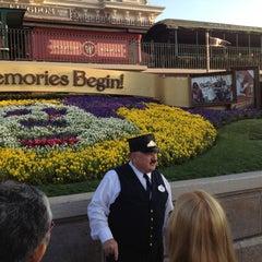 Photo taken at Walt Disney World Railroad - Main Street Station by Susan V. on 3/3/2012