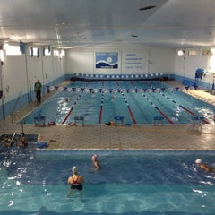Photo taken at Aquatic Center by Jacson B. on 5/11/2012