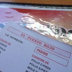 Photo taken at El Puesto Rojo by Pepe J. on 6/12/2012