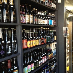 Photo taken at City Beer Store by Tom W. on 4/27/2012