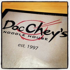 Photo taken at Doc Chey's Noodle House by Patrick S. on 3/4/2012