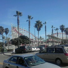 Photo taken at Giant Dipper Rollercoaster by Michael M. on 3/4/2012