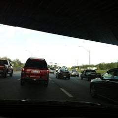 Photo taken at I-480 Exit 23 - OH-14 Broadway Ave Garfield Hts by Jessica T. on 5/3/2012