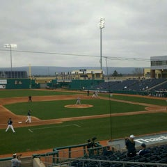 Photo taken at Medlar Field at Lubrano Park by Gregg P. on 3/21/2012