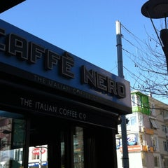 Photo taken at Caffè Nero by Engin C. on 3/17/2012