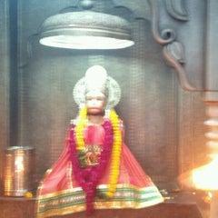 Photo taken at Sri hanuman temple by Himanshu S. on 5/1/2012