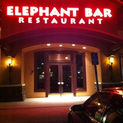 Photo taken at Elephant Bar by Adrian A. on 6/29/2012