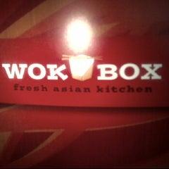 Photo taken at Wok Box by Jeff R. on 5/1/2012