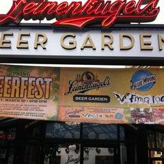 Photo taken at Leinenkugel's Beer Garden by Scott S. on 3/8/2012