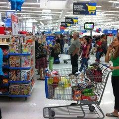Photo taken at Walmart Supercenter by Christopher H. on 8/10/2012