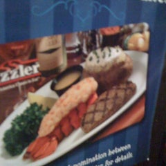 Photo taken at Sizzler by Dylan on 8/26/2011