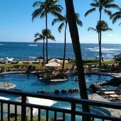 Photo taken at Sheraton Kauai Resort by Paul C. on 2/1/2012