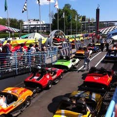 Photo taken at Tomorrowland® Speedway by Cory Y. on 4/2/2011
