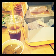 Photo taken at Au Bon Pain by Andres T. on 7/16/2012