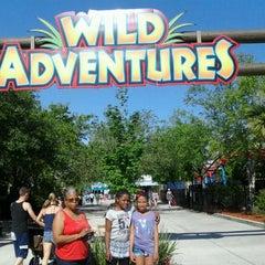Photo taken at Wild Adventures Theme Park by Tamiko P. on 4/5/2012