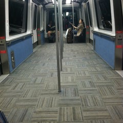 Photo taken at SFO AirTrain Station by Christina L. on 6/19/2012
