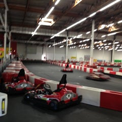 Photo taken at K1 Speed Carlsbad by Gino R. on 5/12/2012